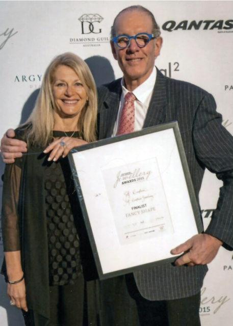 Finalist of the Diamond Guild Australia Jewellery Awards, 2015