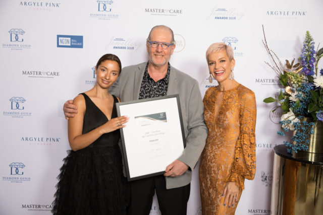Finalist of the Diamond Guild Australia Jewellery Awards, 2018